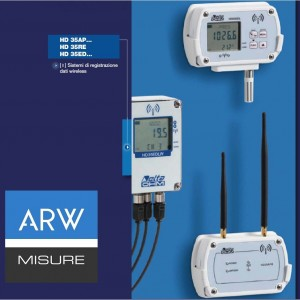 Datalogger wireless serie ARW-HD35