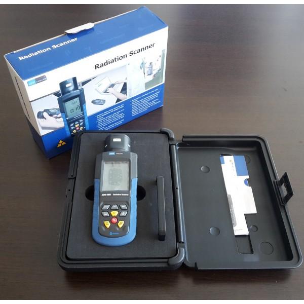 applicazione misuratore radioattività