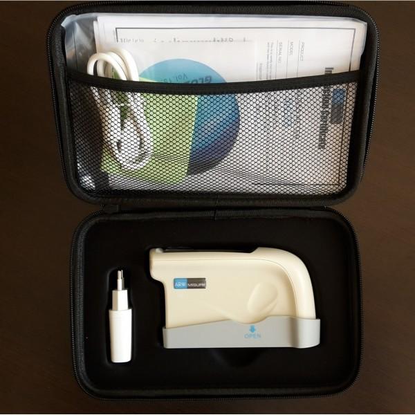 Glossmetro portatile professionale con kit accessori e valigetta custodia