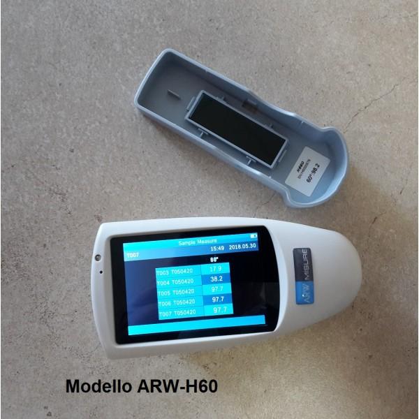 Misura brillòantezza rivestimento con glossmetro ARW Misure